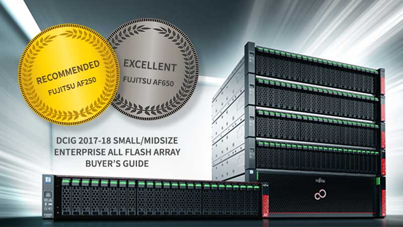 Fujitsu Flash Array award